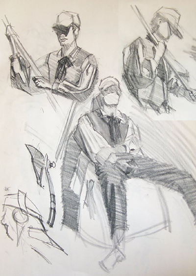 Grinn's Watts Sketchbook (Update after nearly 3 years)